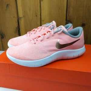 Nike Shoes Flex Contact Coral Pink Sneakers